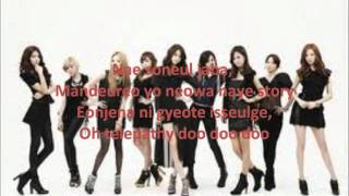 02. Girls' Generation - Telepathy Official Lyrics