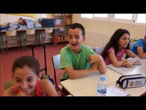 Frases oídas en una clase de Santorcaz. Video broma fin de curso.