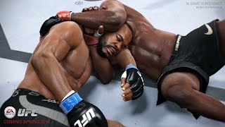 PS4-UFC.Бои без правил. Жёсткий нокаут!