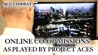 Ace Combat Infinity - PSN - Co-op Missions Trailer