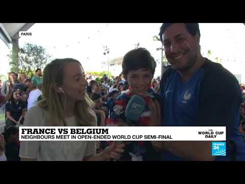 France vs Belgium: French supporters are confident