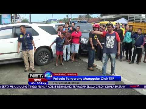 Olah TKP Penembakan Begal di Tangerang - NET24