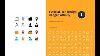 Tutorial Icon Design Dengan Affinity Pt.1   Pembuatan Template Icon