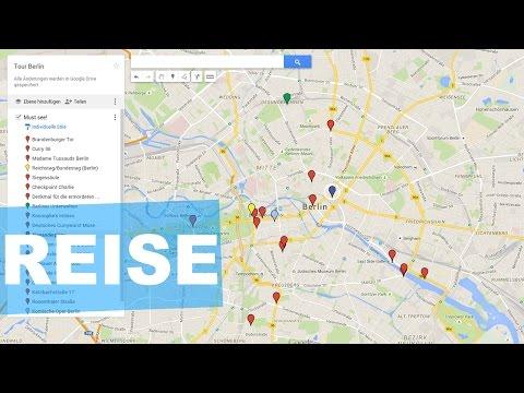 Reiseplanung mit Google Maps und dem Handy (ganz einfach)