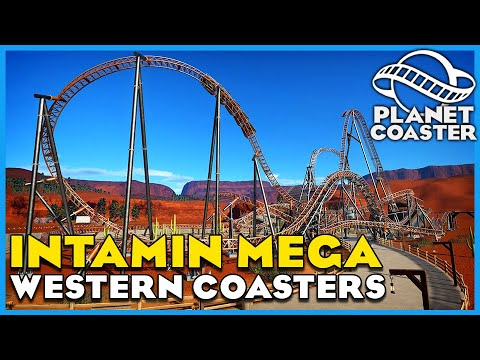 Rocky Mountain Racers, Rattler & Midwestern Madness! Planet Coaster: Coaster Spotlight 710