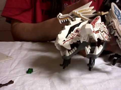 Vidéo LEGO Ninjago 9450 : Le combat des dragons
