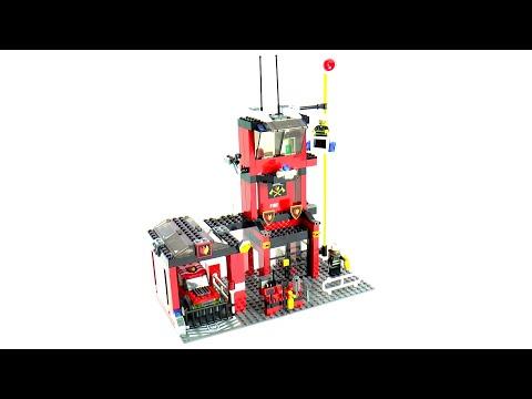 Vidéo LEGO City 7240 : La caserne des pompiers