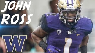 "John Ross || ""Future NFL Star"" || Washington Highlights"