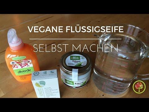 Flüssigseife selbst machen (vegan)