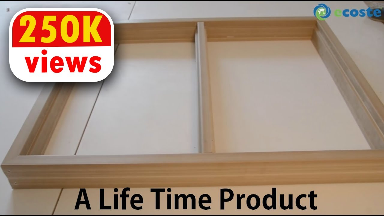 A Much Better Window Frame Than Wooden & UPVC Windows Launched - A Life Time Product