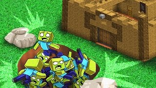 Minecraft   The Forest - ULTIMATE BASE DEFENSE! (Zombie Survival) #11