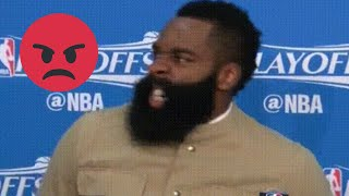 """NBA """"HEATED"""" Press Conference Moments"""