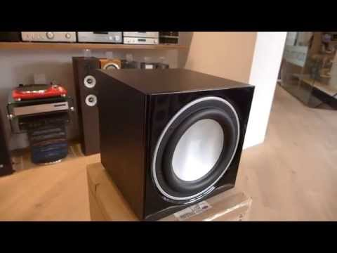 Dali SUB E-9 F Subwoofer System overview