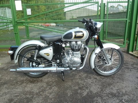 2015 Royal Enfield Classic 500cc SILVER
