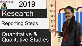 How to Write a Research Report? | Research Reporting Steps: Quantitative and Qualitative Studies