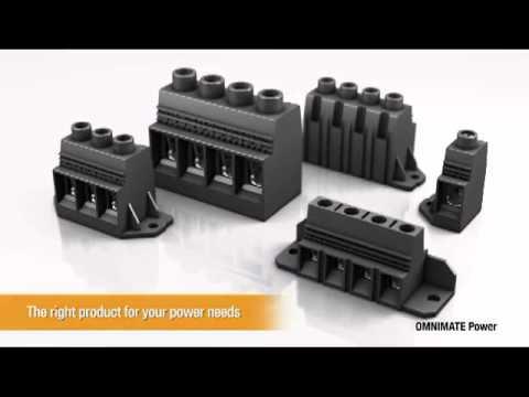 Blocs de jonction de puissance pour CI pas 6mm ou >