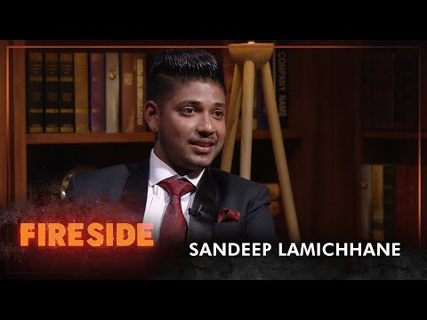 Sandeep Lamichhane (Cricketer) - Fireside | 22 February 2021
