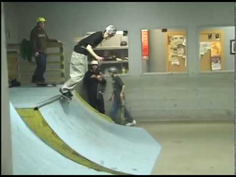 collin hale talent skateboard park burlington vermont 2009 colin