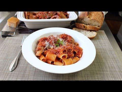 Meat Sauce Recipe – Pasta Sauce – Sunday Sauce – Red Sauce