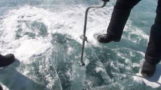 Рыбалка на малом море зимой
