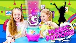 MAGIC and MYSTERY in the SECRET PLAYROOM !!!