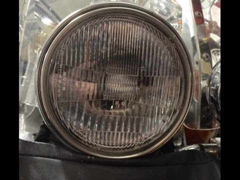 Installing A HID Light On A Honda Shadow Mp3