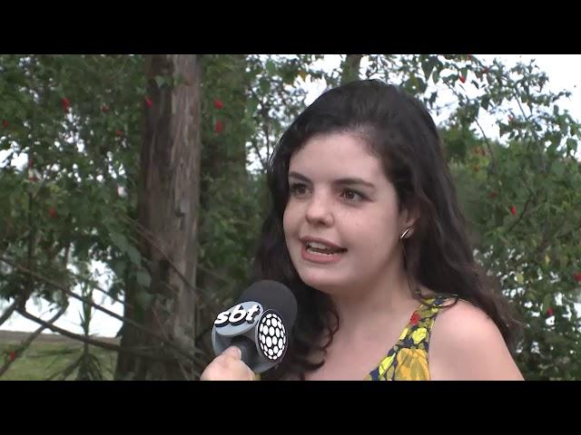 Entrevista para o SBT