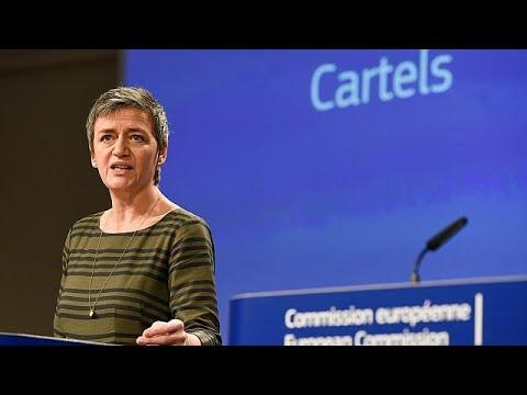 Κομισιόν: Πρόστιμα για καρτέλ