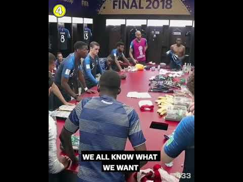 Video: These words of Paul Pogba inspired France to World Cup glory