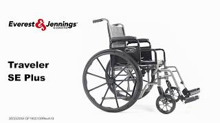 Everest & Jennings Traveler SE Plus Wheelchair Youtube Video Link