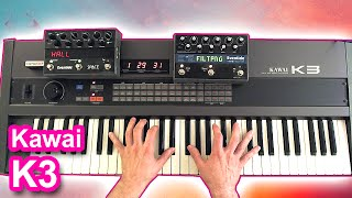 KAWAI K3 synthesizer - Ambient space music 【SYNTH DEMO】