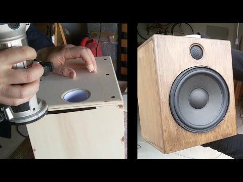 Homemade HT speakers