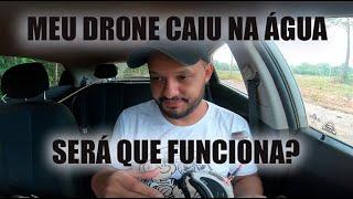 MEU DRONE RACER CAIU NA ÁGUA! SERÁ QUE FUNCIONA?