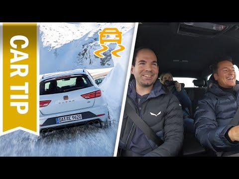 ESP Sport vs. ESP off - ESP ganz ausschalten im Leon Cupra R ST im Test & Drift!
