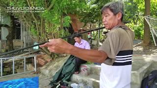 Cao Thủ Từng Câu Cá Lăng 15 Ký Chỉ Làm Mồi và Bí Quyết Săn Cá Sông l River Fish Hunting