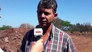 Rochas serão detonadas hoje no terreno do novo Hospital de Capitão