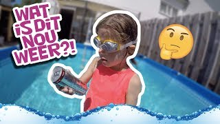 WHAT'S IN THE POOL CHALLENGE !!   KOETLIFE VLOG #729