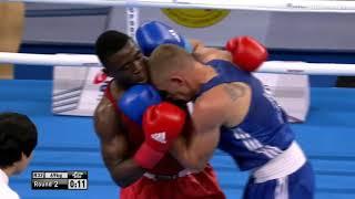ЧМ-2017 (69kg) 🇺🇦 Евгений Барабанов (UKR) — Нкумбу Силунгве (ZAM) 1/16 финала