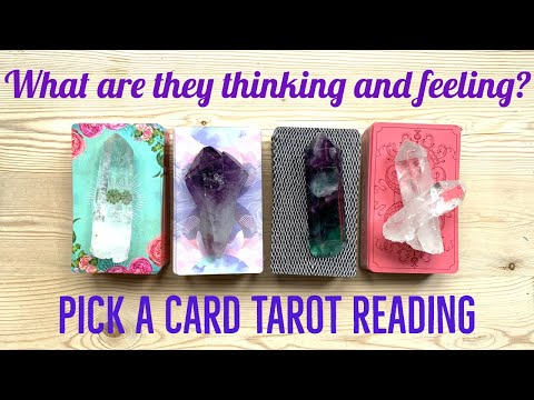 Pick a Card How does your person feel and think about you? Love Soul Mate Twin Flame Tarot Reading