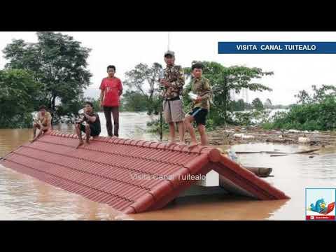 Ruptura de presa en Laos deja cientos de desaparecidos
