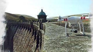 Elan Valley in Wales - DJI Phantom 3 Standard