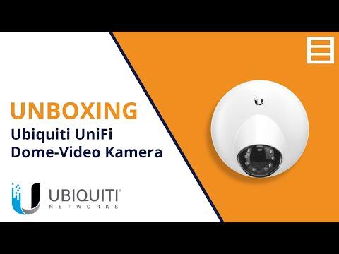 Unboxing: Ubiquiti UniFi UVC G3 DOME