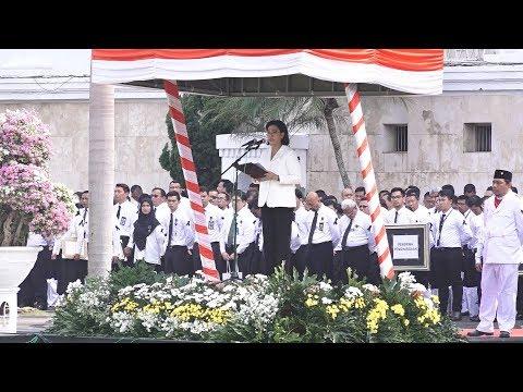 Upacara Hari Oeang Republik Indonesia Ke 72