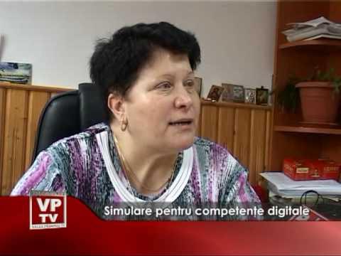Simulare pentru competenţe digitale
