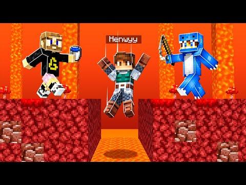 Minecraft Manhunt, but if I DIE my FRIENDS LOSE!