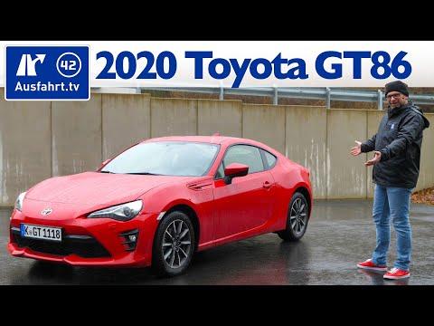 2020 Toyota GT86 Pure - Kaufberatung, Test deutsch, Review, Fahrbericht Ausfahrt.tv