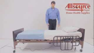 Drive Ultra Light 1000 Hospital Bed Assembly