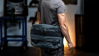 5.11 Concealed Carry Tactical Messenger Bag - RUSH Professional / Office Carry Option