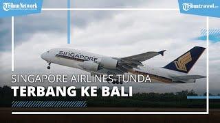 Singapore Airlines Tunda Penerbangan ke Bali, Begini Alasannya