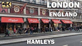⁴ᴷ HAMLEYS TOY STORE Virtual Walk London England Store Tour